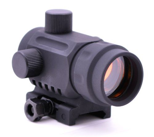 TACTICAL COMPACT 1X40 MICRO RED GREEN BLUE TRI-COLOR ILLUMINATION 5 MOA SIGHT