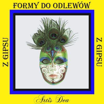 Duza Maska Wenecka Forma Formy Do Odlewow Z Gipsu 5826030821 Oficjalne Archiwum Allegro Character Fictional Characters Art