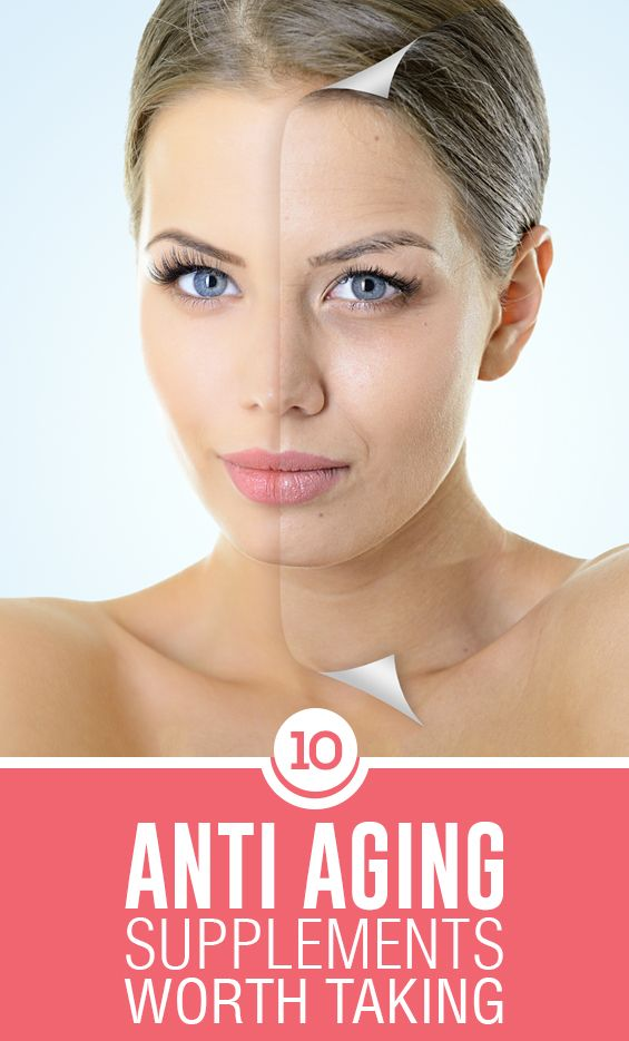 10 Best Anti Aging Supplements Worth Taking   Aging ...