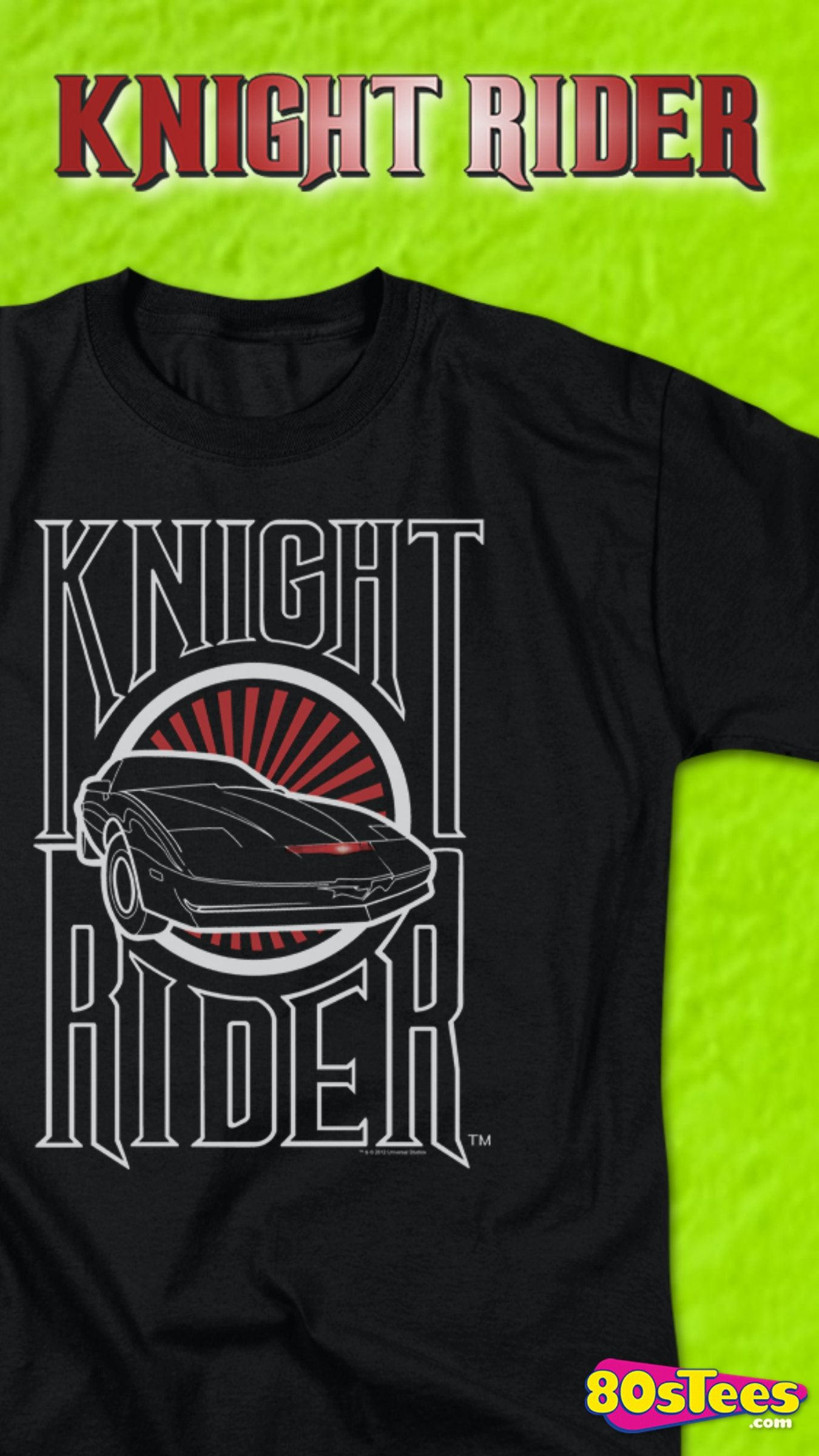 Knight industries two thousand knight rider tshirt in