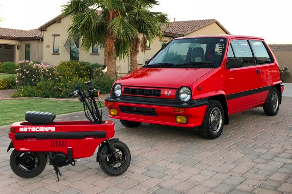 No Reserve: 1985 Honda City R w/ Motocompo for sale on BaT Auctions - sold for $14,750 on September 18, 2018 (Lot #12,422) | Bring a Trailer
