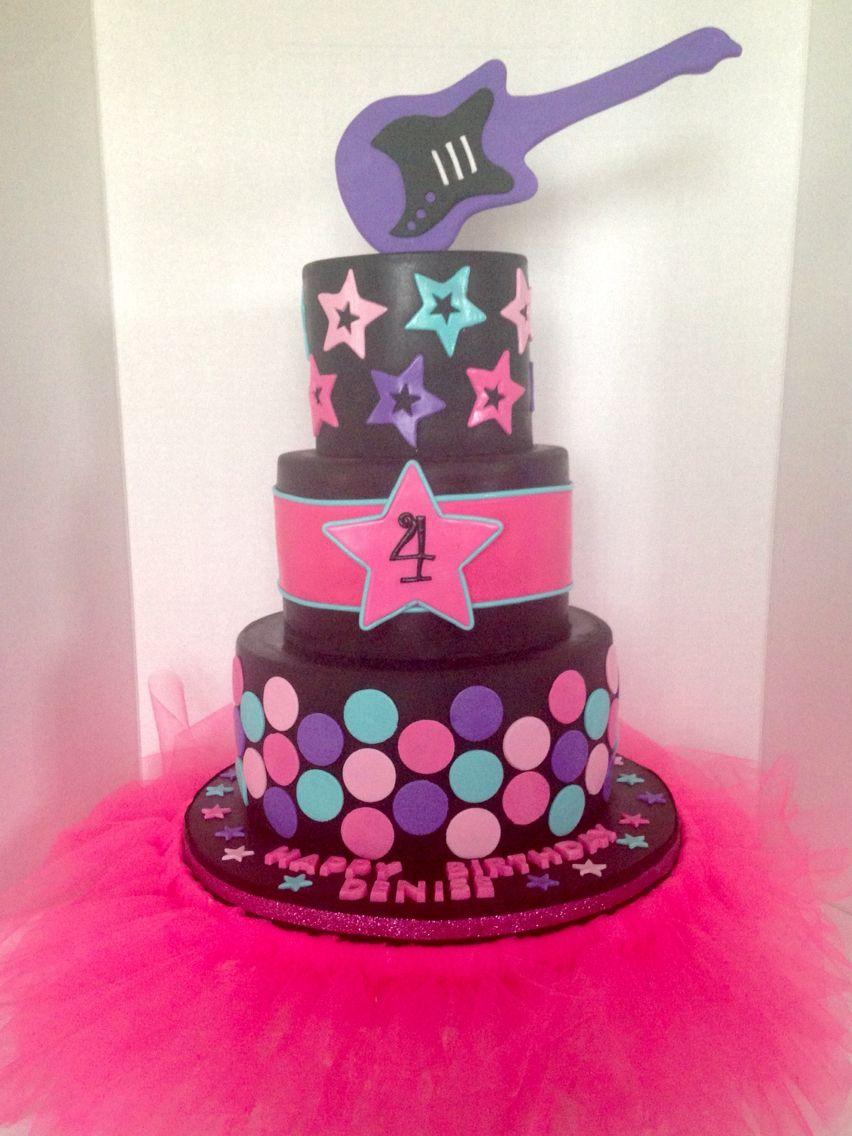 Rockstar Cake My Cakes Pinterest Cake And Birthdays