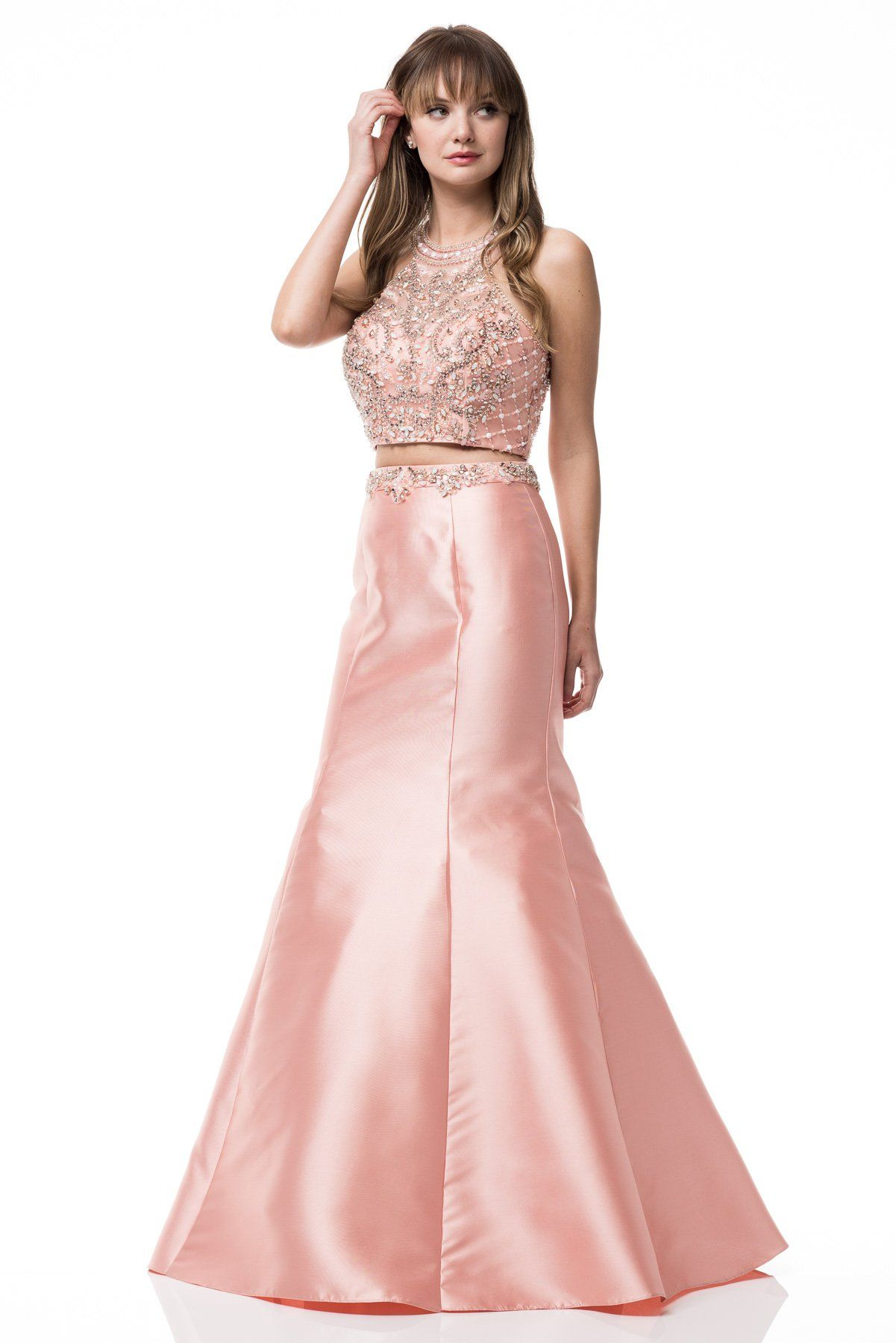 Sexy piece long prom dress bccp long prom dresses and products