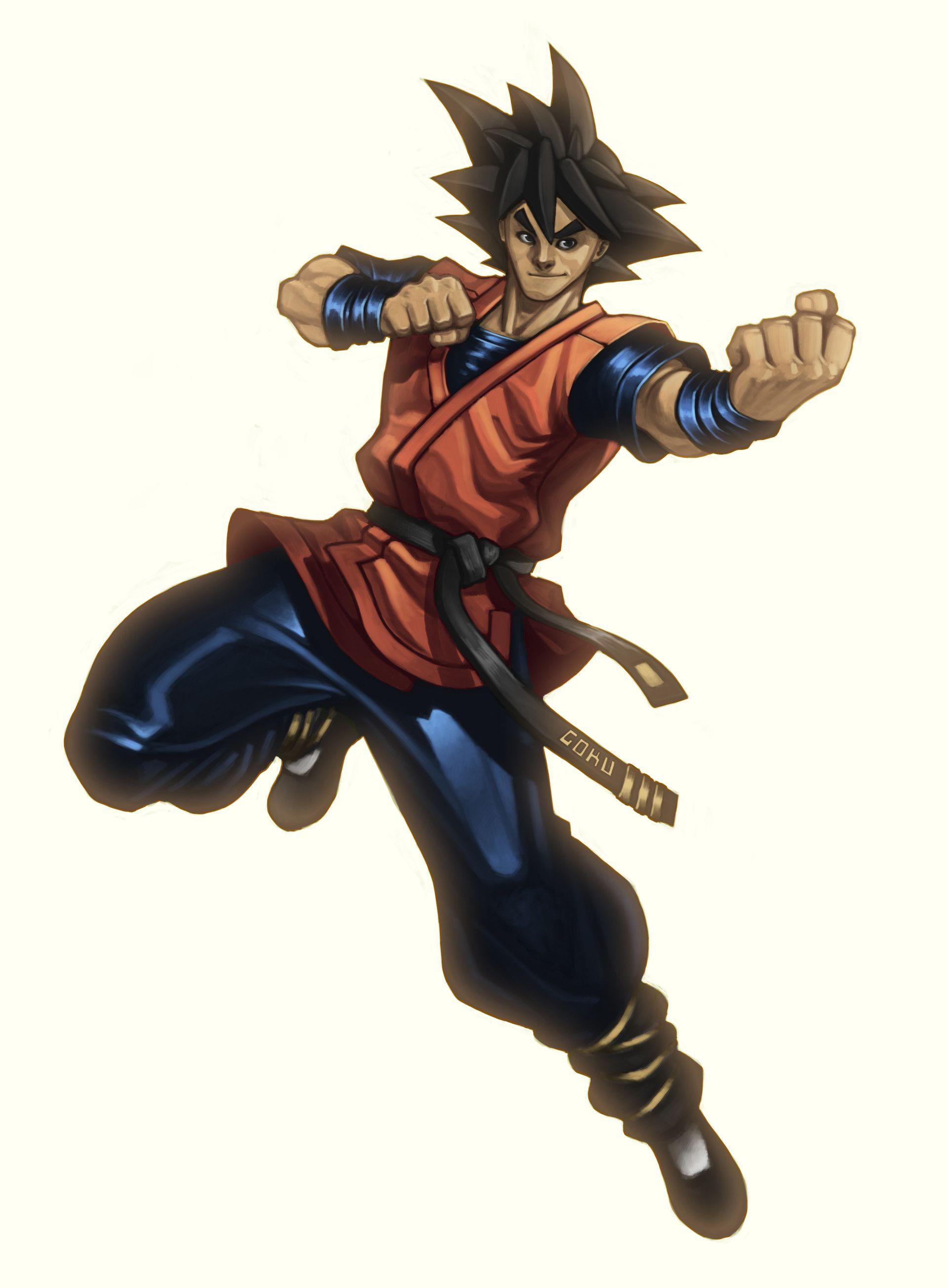 ArtStation - Goku, Anthony Amorose