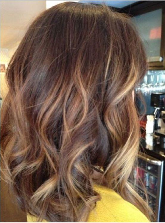 Brown Medium Length Hairstyles