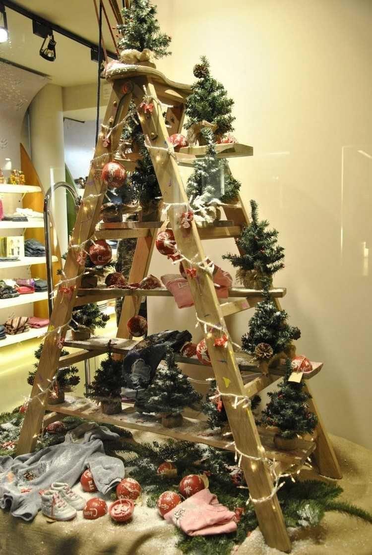 Sapin fait maison une déco de Noël super artistique qui