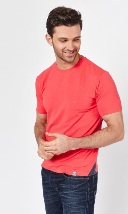 Men's Bamboo Air T-shirt *160gsm - Soft Red* : Bamboo Clothing