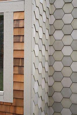 Pratt And Larson Tile And Stone Hex Tile Modern Tiles Shingling
