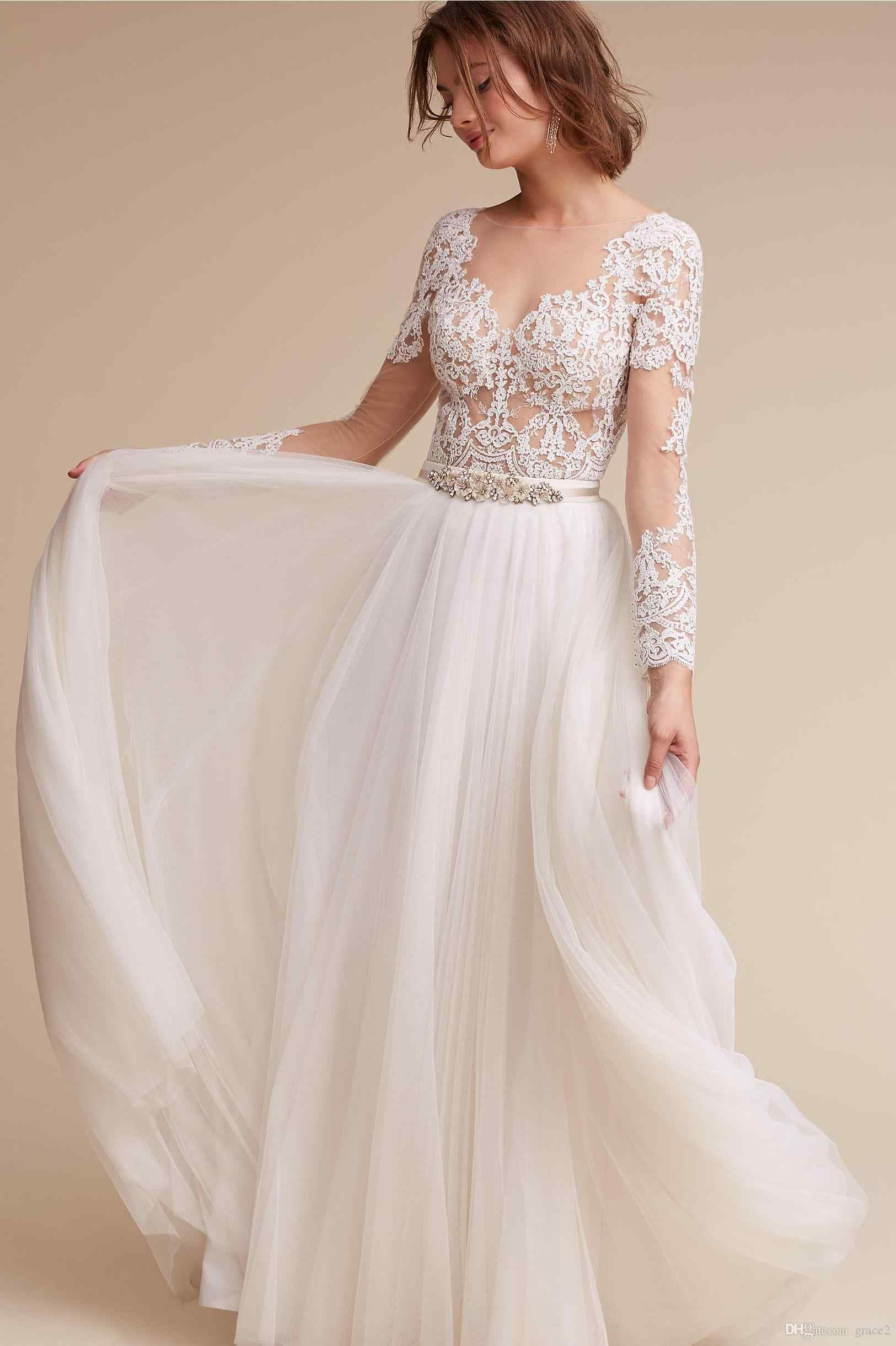 that will make you elegant boho wedding simple dress wedding