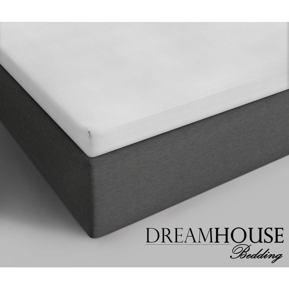 Dreamhouse Bedding Cotton Topper Fitted Sheet White - White / 90 x 200 / Cotton
