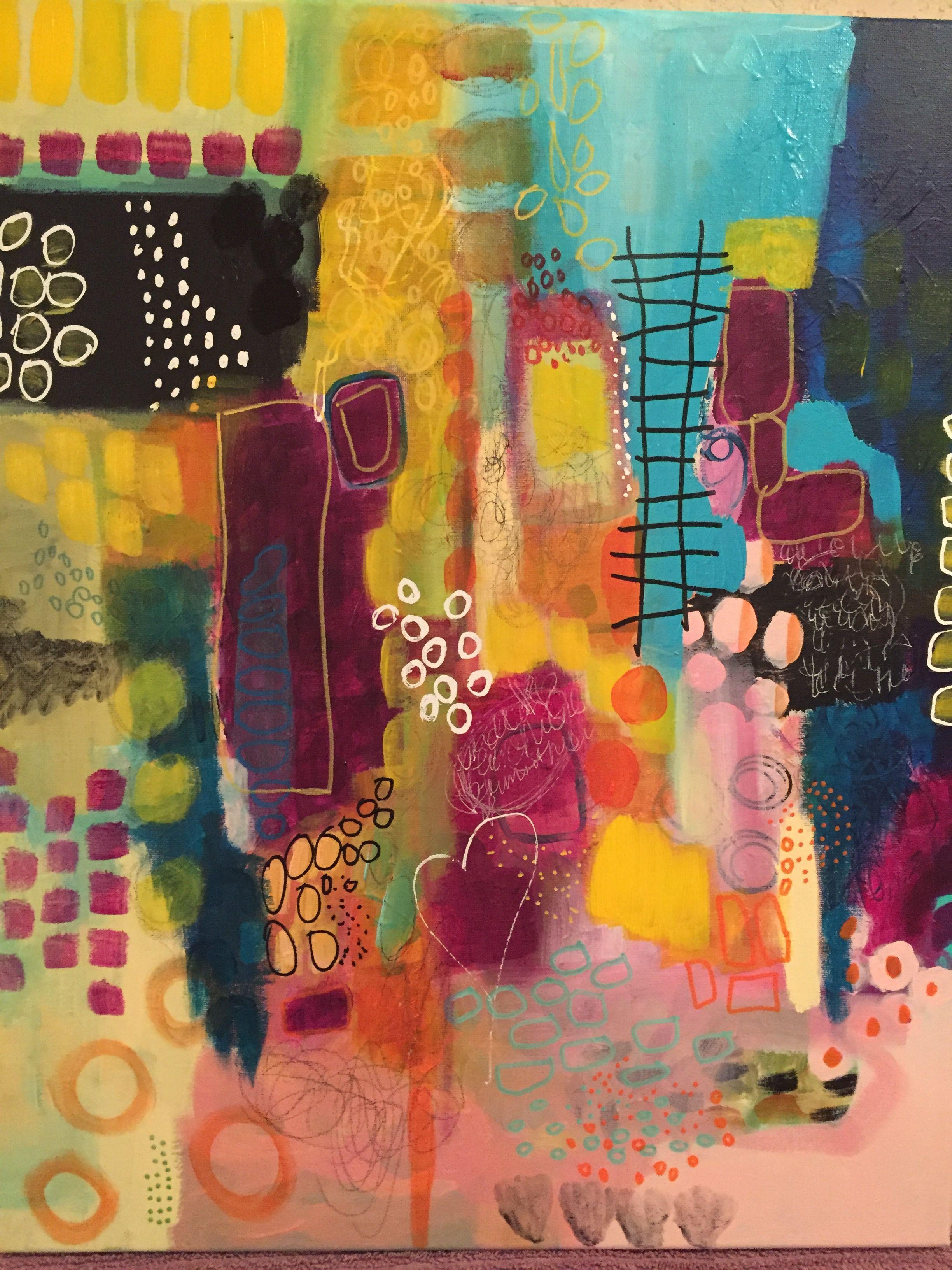 Peintures murales images XXL Abstrait personnages nappes Toile Image Art pression 302412p