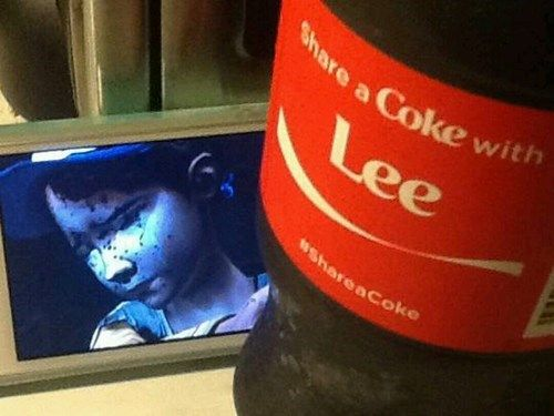 Sorry, Clem - Share a Coke with Lee   The Walking Dead (Telltale Game)