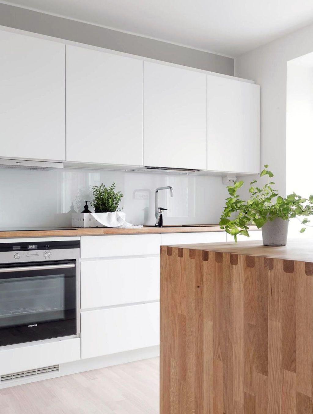 51 Comfy Wood Scandinavian Kitchen Ideas That Popular Today In 2020 Scandinavian Interior Kitchen Scandinavian Kitchen Design Scandinavian Kitchen