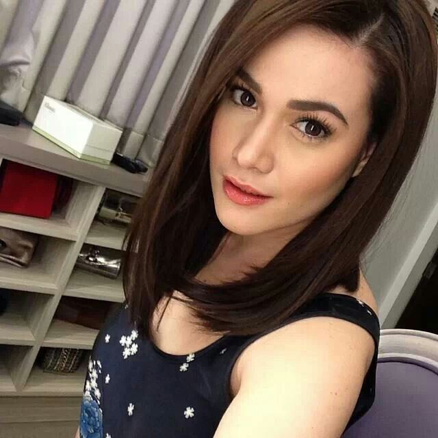 New Hair Color Of Bea Alonzo