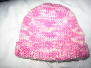 Hannah's baby hat | Baby hat patterns, Hat pattern, Baby ...