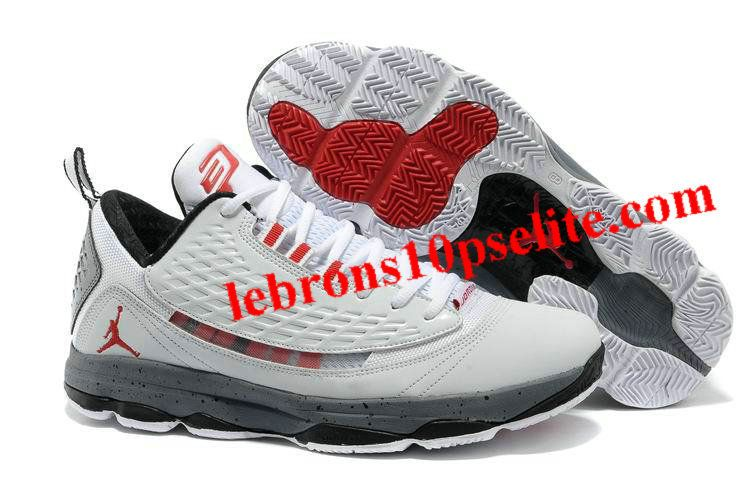 reputable site 51c80 1ea10 ... low cost jordan cp3.vi ae chris paul shoes white cement ec5af bd55c