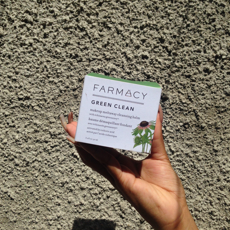 Farmacy greenclean #skincare #makeupremover