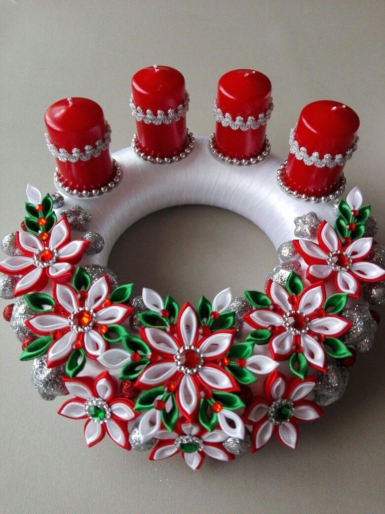 Corona navide a decoraci n navide a christmas for Navidad adornos manualidades navidenas