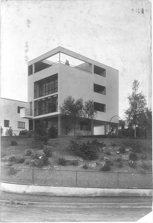Fondation le corbusier buildings maisons weissenhof - Maison architecture contemporaine grupo arquitectura ...
