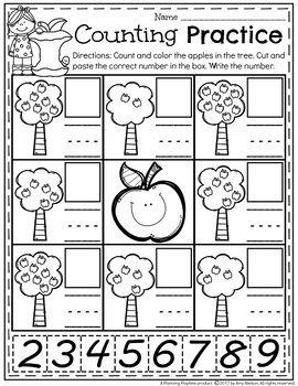 Kindergarten Math | Preescolar, Números y Actividades