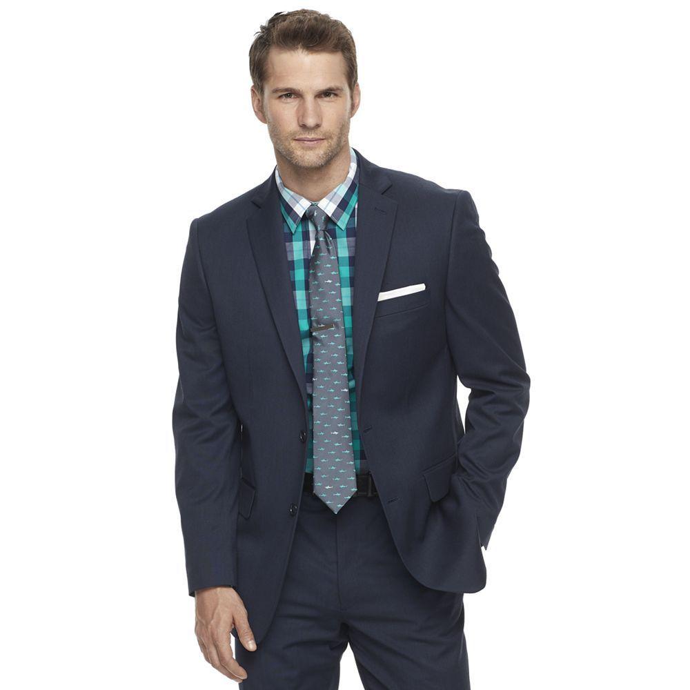 Menus apt premier flex slimfit suit coat size regular