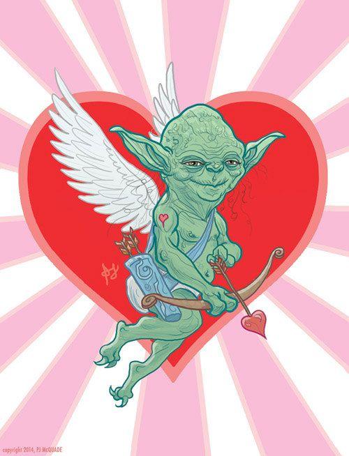 Morgen Ist Valentinstag, Yoda Ist Mit Euch... Http://www