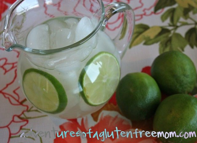 Homemade Limeade Concentrate Adventures Of A Gluten Free Mom Lime Juice Recipes Limeade Limeade Concentrate Recipe
