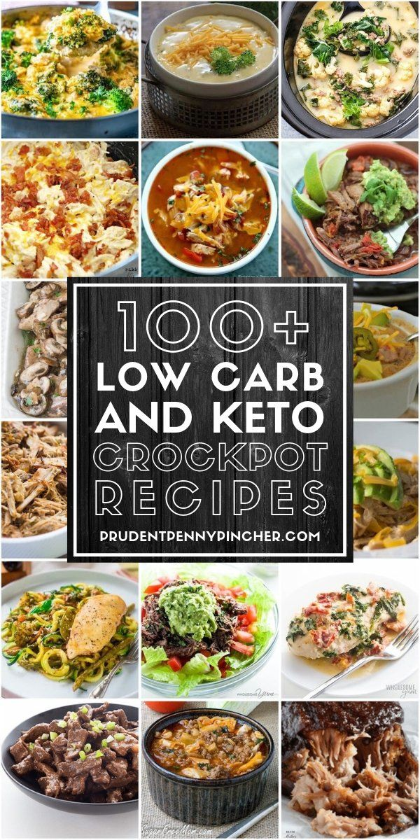 100 Low Carb and Keto Crockpot Recipes images