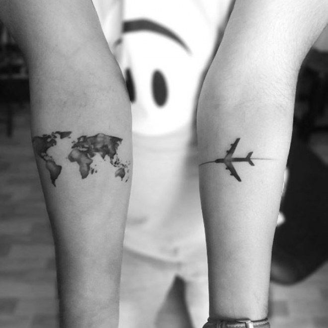 50 Tatouages Qui Nous Invitent Au Voyage Backpacker Spirit