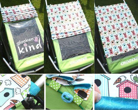 varianten sonnensegel croozer sewing for babies 3. Black Bedroom Furniture Sets. Home Design Ideas