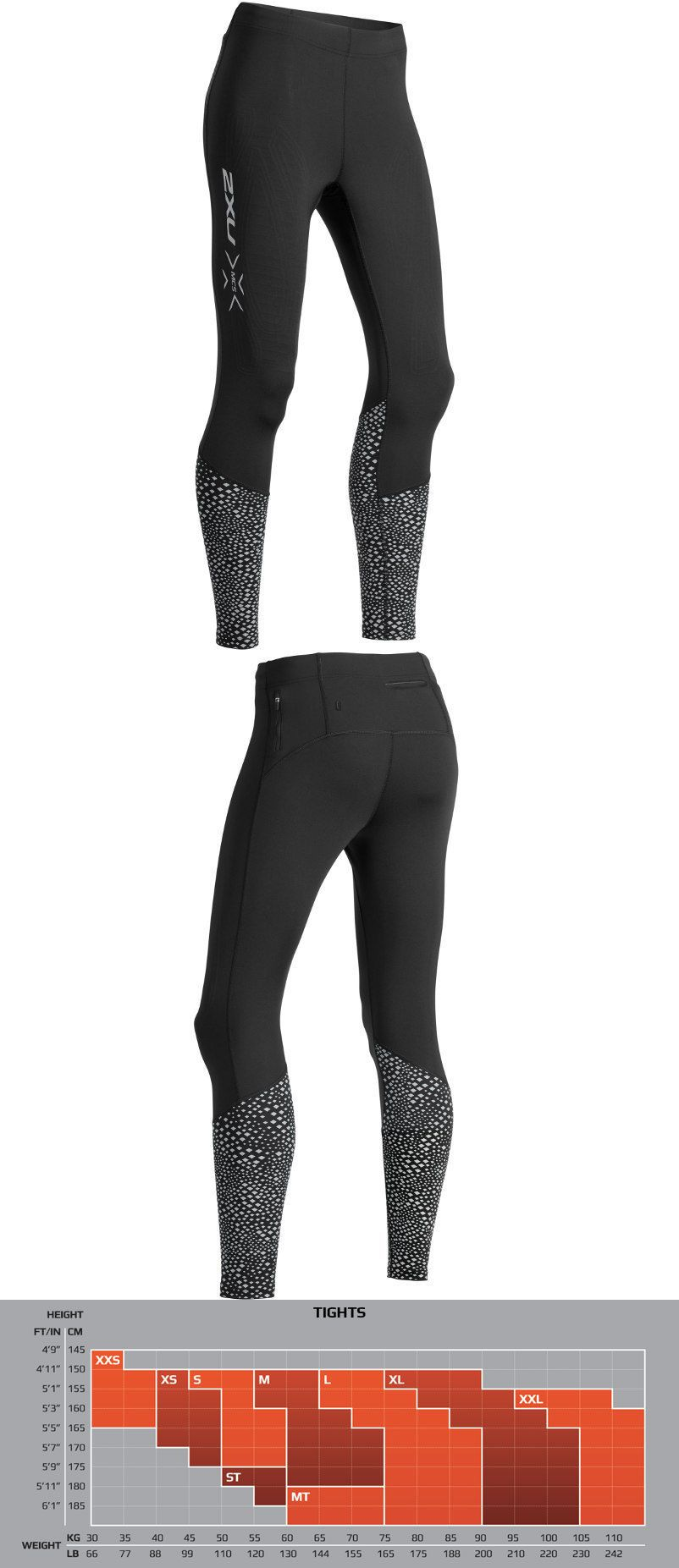 865ff63e00651 Compression and Base Layers 179822: 2Xu Women S Mcs Reflect Run Thermal  Compression Tight With Storage - 2019 -> BUY IT NOW ONLY: $129.95 on #eBay  ...