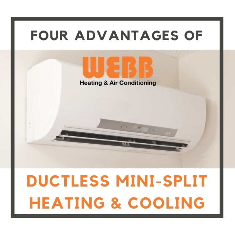Four Advantages Of Ductless Mini Split Heating Cooling