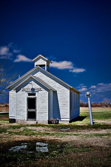 School from Little House on the Prairie - Independence, Kansas