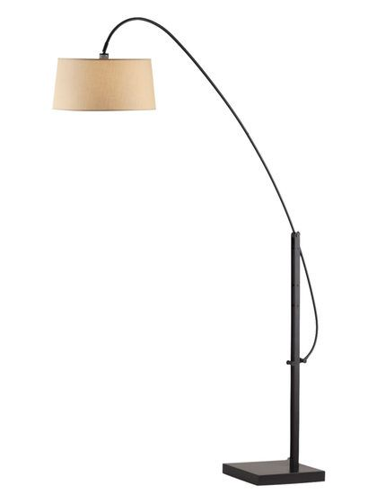 Elevate arc lamp by nova lighting at gilt