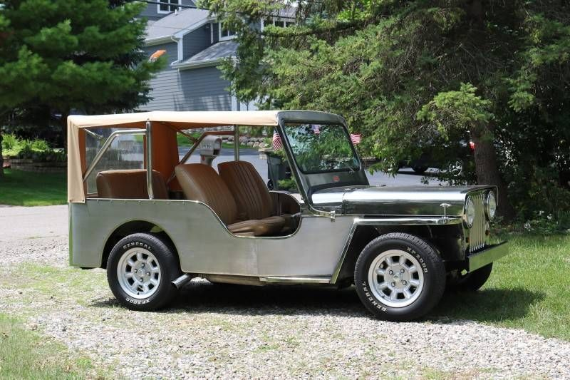 Year Cj3a Stainless Bloomfield Mi3 Modified Cars Willys Jeep