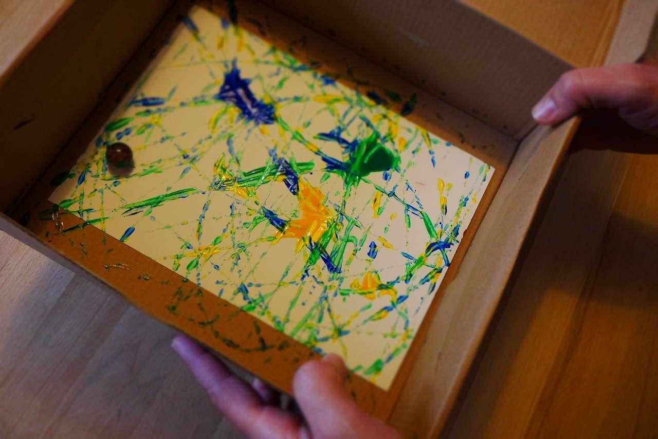 Ein Bisschen Farbe Für Dunkle Tage 99 Schuhkarton Basteln Bastelideen Kleinkinder