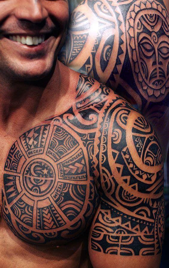 Tribal Tattoos For Men Tribal Chest Tattoos Tribal Shoulder Tattoos Tribal Tattoos For Men