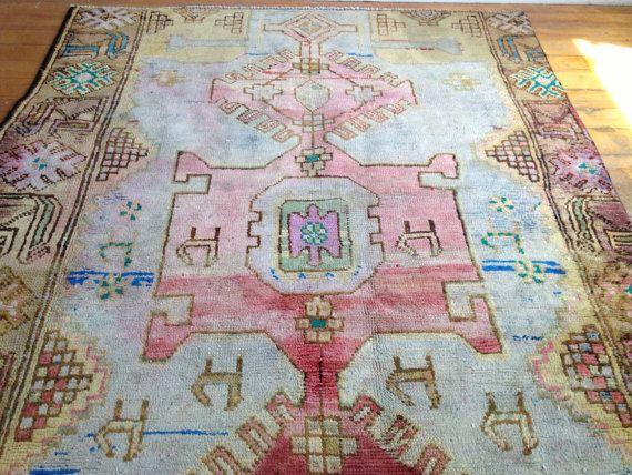 Pastel Vintage Rug Rugs Flooring Vintage Rugs Rugs