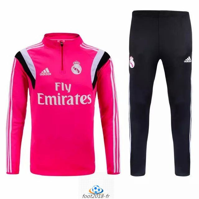 boutique officiel nouveau survetement real madrid rose. Black Bedroom Furniture Sets. Home Design Ideas
