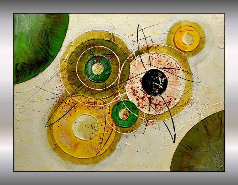 Tableau abstrait art modern peinture contemporain idee deco toilette pinterest tableau - Tableau abstrait contemporain ...