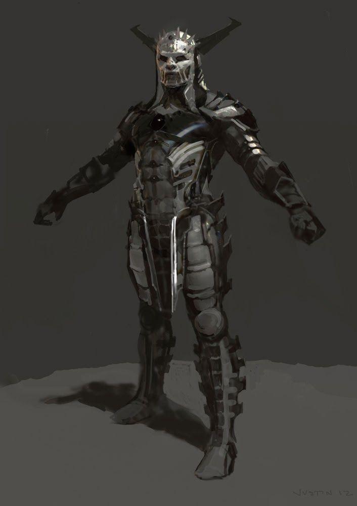 Dark Elf Concept Art