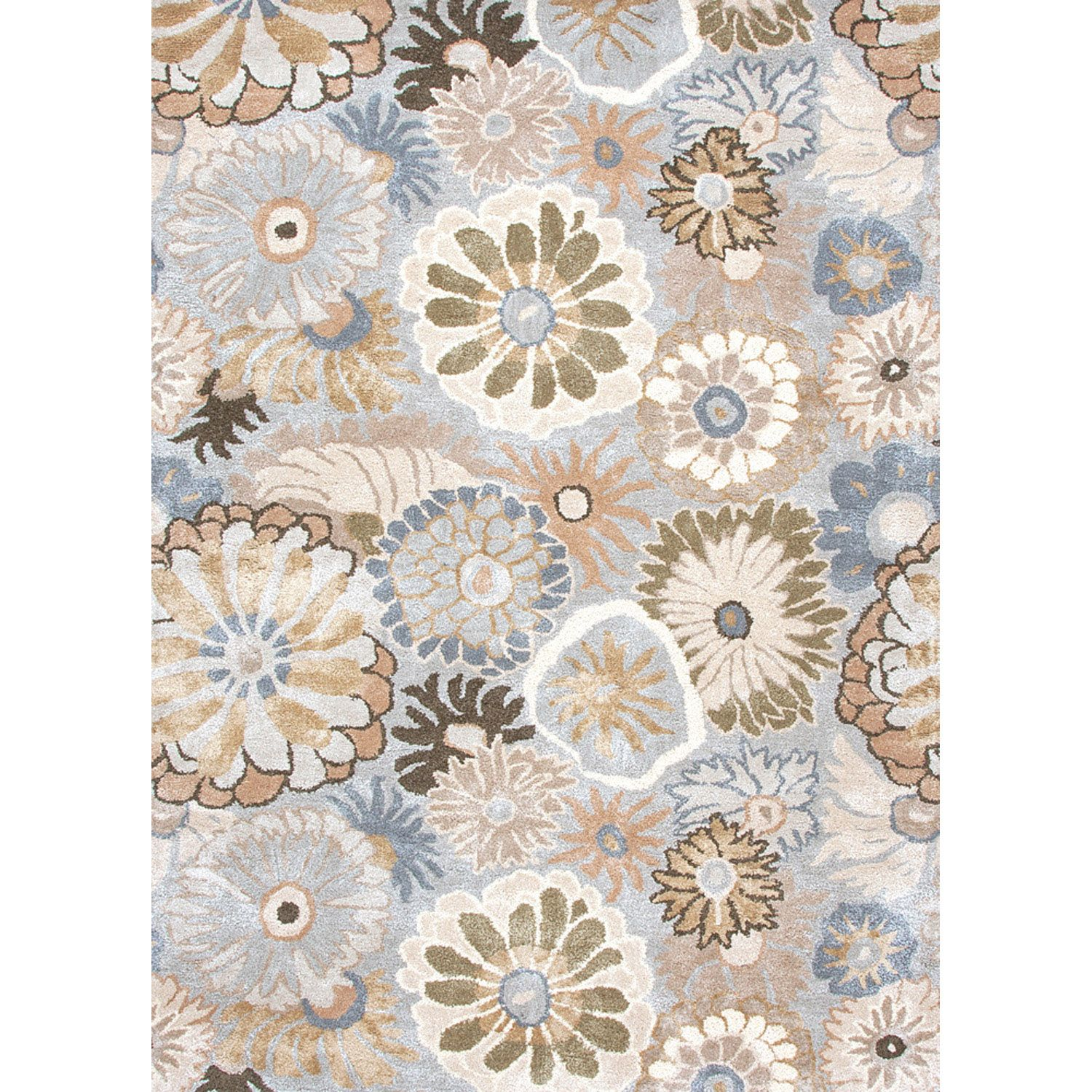 Inspired by bold ethnic textiles and the rich hues of Indian spices, this rug encourages individual expression with a modern flare. Embellishing this mix of playful colors, some designs incorporate a raised carving effect and art silk accents. This r?