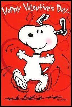 Happy Valentine S Day Happy Snoopy Quote Valentines Ideas