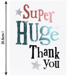 Super huge thank you giant card kaartjes bedankt pinterest the bright side greetings cards fit for all occasions m4hsunfo Gallery
