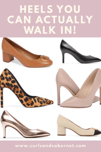 most comfortable high heels, heels you