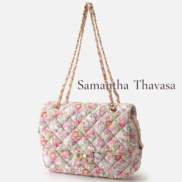 6d79260f5 Samantha Thavasa Hello Kitty Liberty Shoulder Chain Quilting Bag L Limited  Japan | eBay Hello Kitty