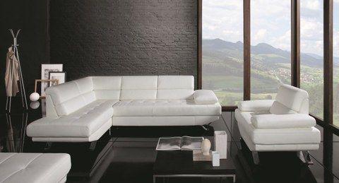 canape d 39 angle convertible tango cuir int gral en. Black Bedroom Furniture Sets. Home Design Ideas
