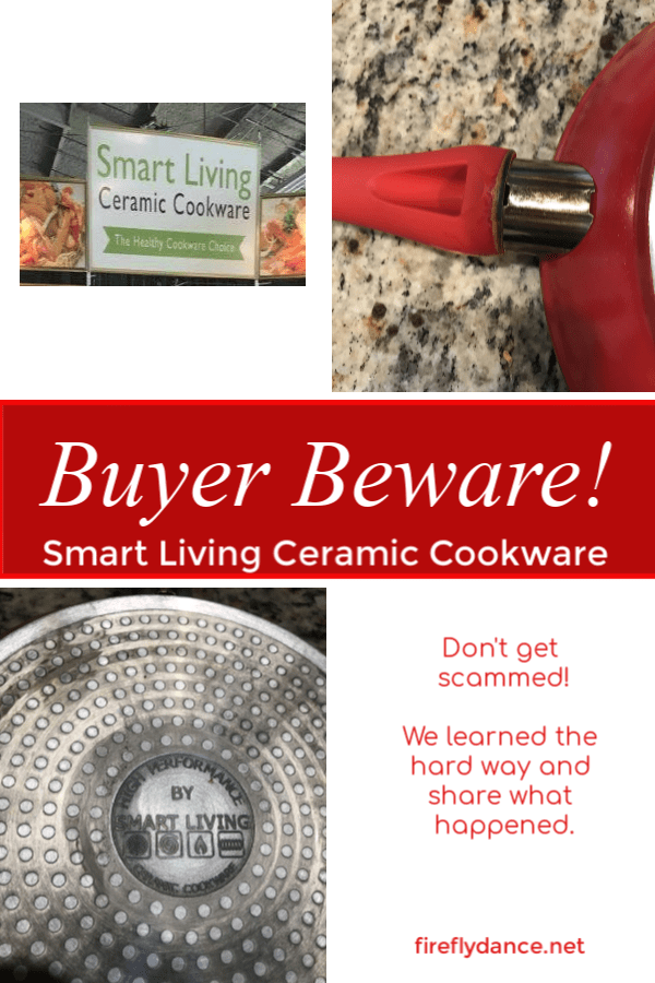 Smart Living Ceramic Cookware See What Hened After We Purchased These Pans