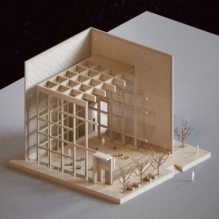 Pin de natalia piasecka en archi pinterest maquetas for Casa moderna maqueta