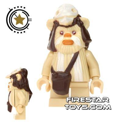 Minifigure Head New GENUINE Lego Star Wars Logray Ewok